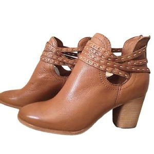 NWT FRYE NAOMI PITCHSTICK SHOOTIE IN WHISKEY!